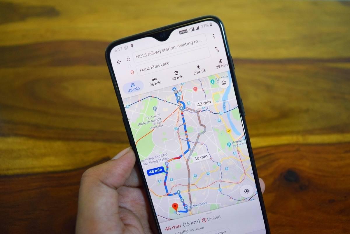 Google Maps będzie udostępniać ceny paliw