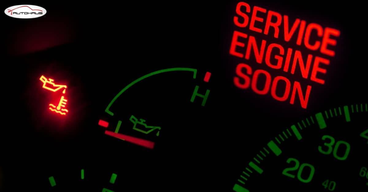 Kontrolka check engine